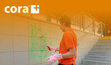 CORA - Odstranění graffiti