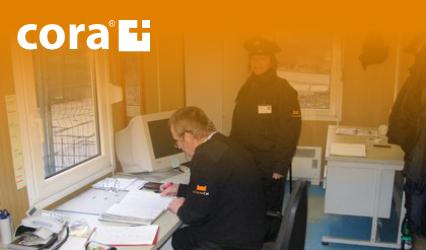 CORA - Přípravu systému ostrahy objektů