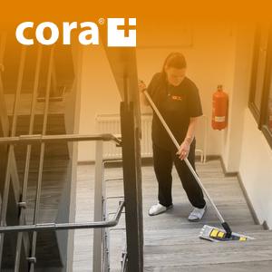 CORA - pravidelny uklid